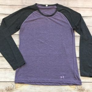 Under Armour Heat Gear Colorblock Long Sleeve T